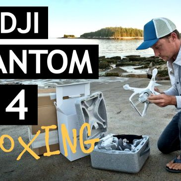 DJI Phantom 4 - unboxing video