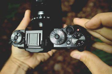 Fujifilm X-T1 manual controls