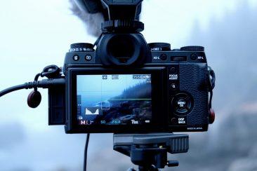 Fujifilm X-T1 video mic