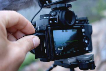 Fujifilm X-T1 video mic plug