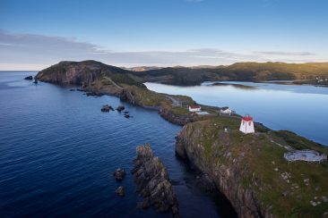 Fort Point Lighthouse,Trinity, Newfoundland, Canada