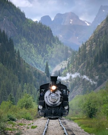 Durango Silverton Narrow Gauge Railroad - DSNGR Train