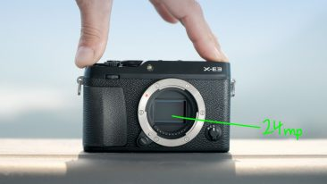 Fujifilm-XE3 X-Trans CMOS III sensor