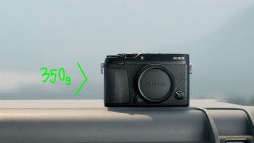 Fujifilm-XE3 compact rangefinder