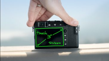 Fujifilm-XE3 touch screen