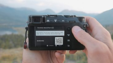 Fujifilm X-E3 bluetooth pairing enabled
