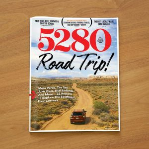 5280 magazine Road Trip cover