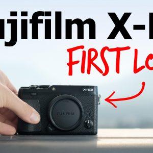 Fujifilm X-E3 digital rangefinder