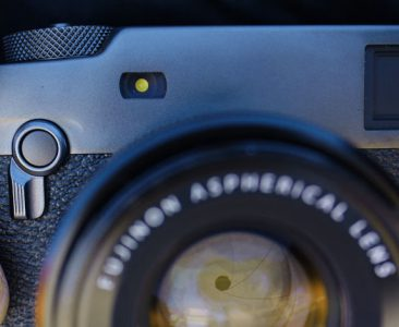 Fujifilm X-Pro3 camera detail