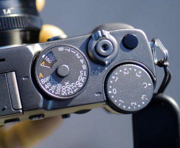 Fujifilm X-Pro3 camera dials