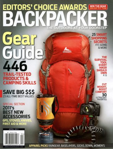 backpacker magazine cover photo