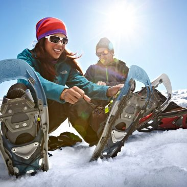 snowshoe in Mammoth Lakes, CA