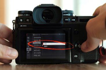 Fujifilm X-H1 flog recording