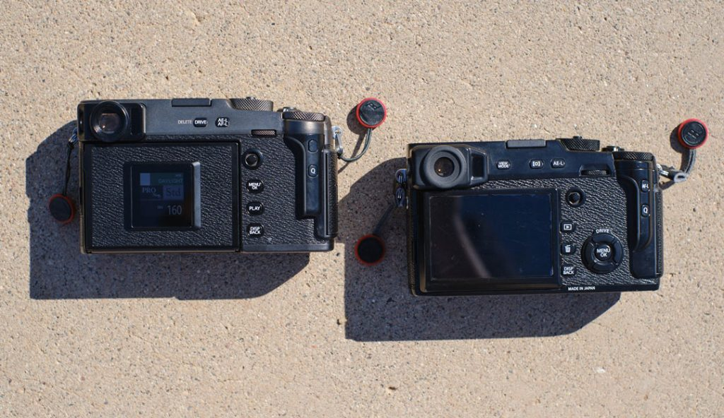 Comparing the Fujifilm X-Pro3
