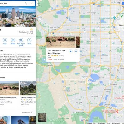Find the best photography locations using Google Maps